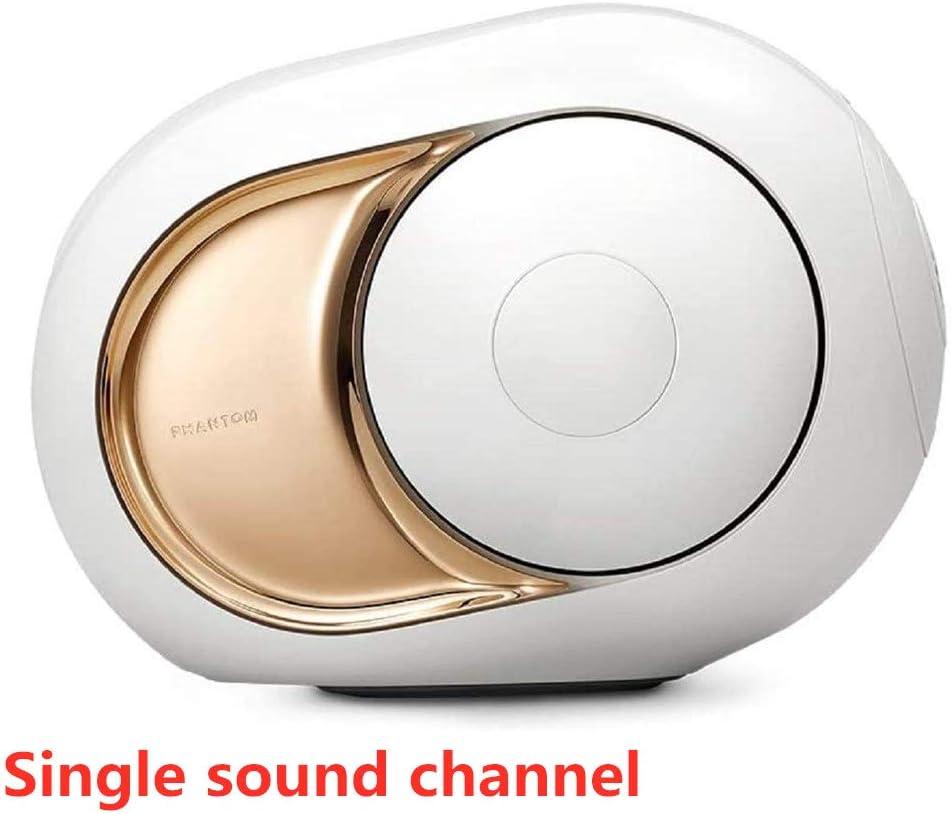 Golden Speaker - Altavoz inalámbrico de Gama Alta, 108 DB estéreo Golden Egg Altavoz Bluetooth inalámbrico Reproductor Súper Fuerte Estéreo Sonido Mejorado Bajo Súper Fuerte Subwoofer (Blanco)
