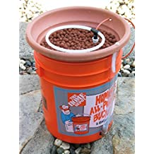 Diy Hydroponic Fast Grow Bucket System Plans: Grow plants fast uses airlift pump