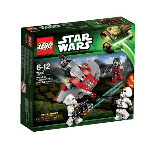 LEGO Star Wars Republic Troopers vs Sith Troopers (Lego Star Wars The Old Republic Sets)
