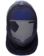 ThreeWOT Fencing Mask, Fencing Coaches Mask,350N CE Certification Fencing Equipment,Used for Training Fencing Accessories(Contain Storage Bag)