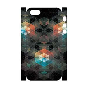Iphone 5/5S Case 3D, Linked Abstraction Case for Iphone 5/5S white lm5s176676
