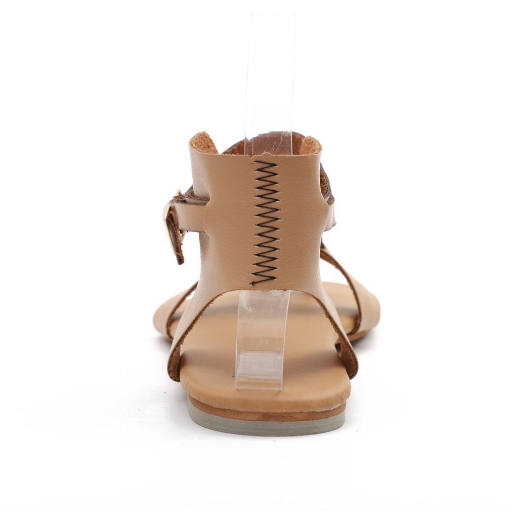 Beikoard Promozione della Moda Sandali Donna Taco Sandali da Spiaggia Allacciati Traspiranti da Donna con Tacco Alto da Donna
