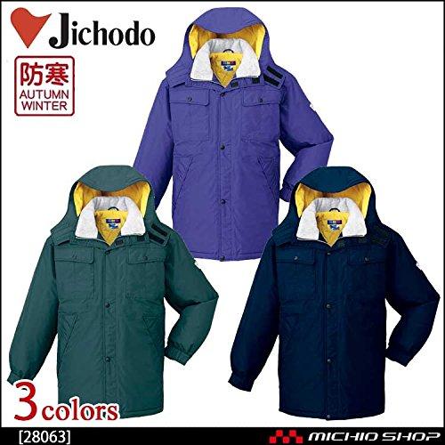 自重堂 作業服 防水防寒コート 28063 B07BMM3Y4Z 4L|012グリーン 012グリーン 4L