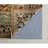 Safavieh Padding Collection PAD130 Grey Runner, 2 feet by 8 feet (2' x 8')