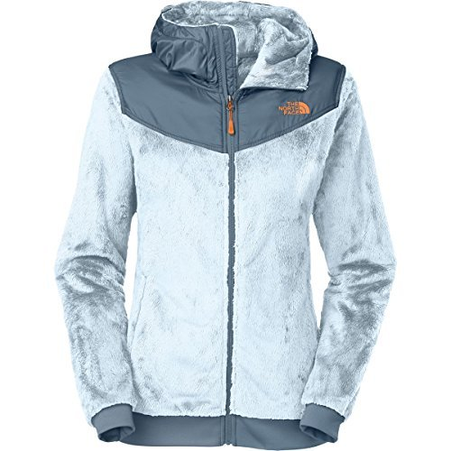 The North Face Oso Hooded Fleece Jacket - Womens Tofino Blue/Cool Blue, (Womens Oso Hoodie Jackets)