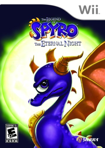 The Legend of Spyro: The Eternal Night - Nintendo Wii (Dragon Games For Wii)