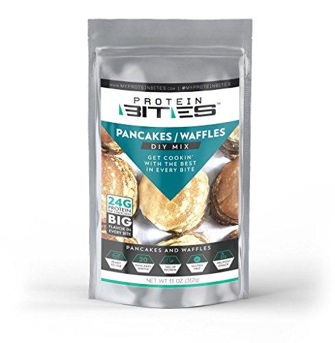 My Protein Bites   Diy Pancake Mix   24G Of Protein Per 3 Pancakes   Low Carbs  Sugars   Great Taste   Gluten Free