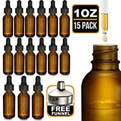 Not all essential oil bottles are the same. While plastic containers and clear glass bottles tend to be cheaper, they do little to safeguard the safety of your product. The Nylea super pack of 15 essential oil bottles is designed to effective...