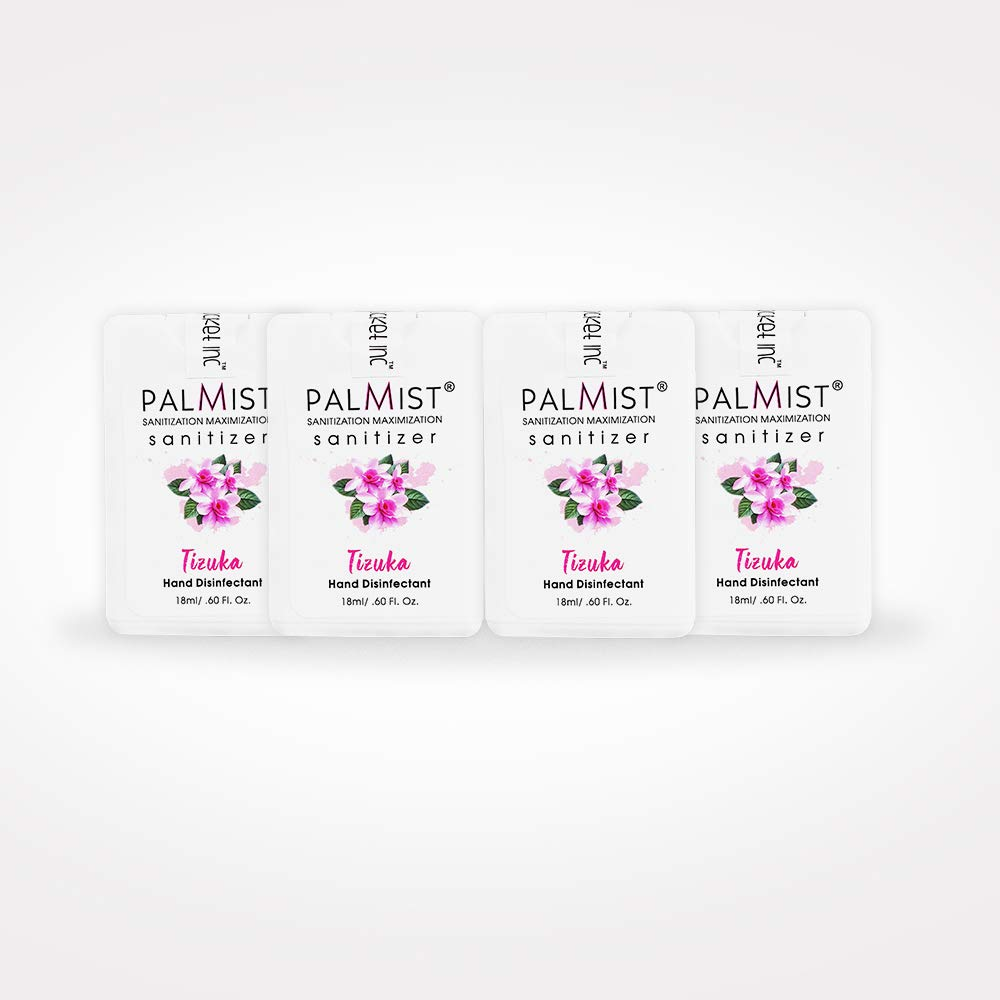 Buy Palmist Pocket Hand Sanitizer Spray Combo Of 4 Piece Tizuka