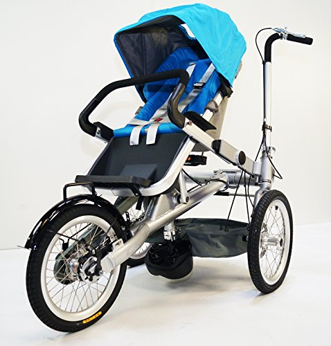 3 In 1 Stroller Tricycle - 4
