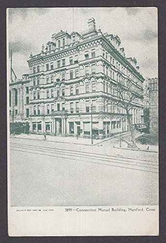 Connecticut Mutual Building Hartford CT undivided back postcard 1900s ()