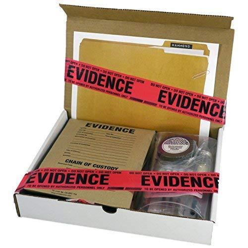 Crime Scene Forensic Science Kit: The Missy Hammond Case -