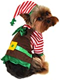 Anit Accessories Workshop Elf Dog Costume, Small, 12-Inch
