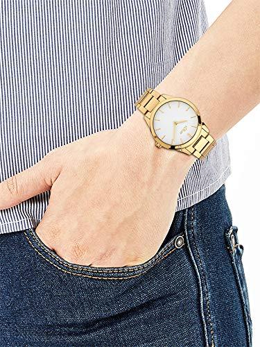 s.Oliver Damen Analog Quarz Armbanduhr mit Edelstahl Armband 4