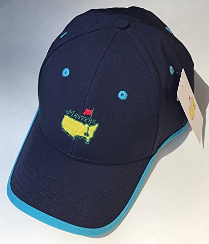 Masters golf hat performance style navy turquiose new 2019 masters (Masters Golf Hat Navy)