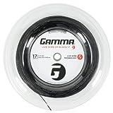 Gamma Sports Live Wire XP Tennis String, Black, 360'/17g