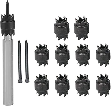 13PCS 3//8/'/' Double Sided Rotary Spot Weld Cutter Remover Sheetmetal Drill Bit UK