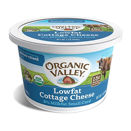 organic valley organic low fat cottage cheese 16 oz amazon com