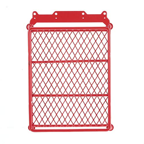 Binory Roof Luggage Rack Carrier for 1/10 RC Car Crawler Truck SCX10 90046 D90 TRX-4(Red)
