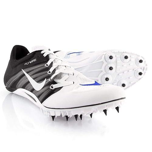 2f390949720278 NIKE Zoom JA Fly 2 Unisex Track & Field Spikes (Men's 10.5, White ...
