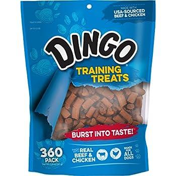 Supplies Treats Training Snack Beef amp; Soft Dingo Treats com chicken Chewy Amazon 360-count Pet
