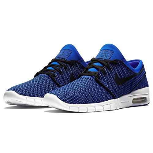 (Nike Men's Stefan Janoski Max Skate Shoe (9 D(M) US, Hyper Royal/Black-White))