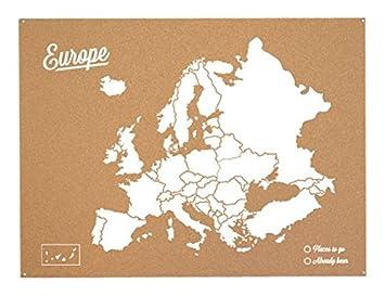 carte europe en liege