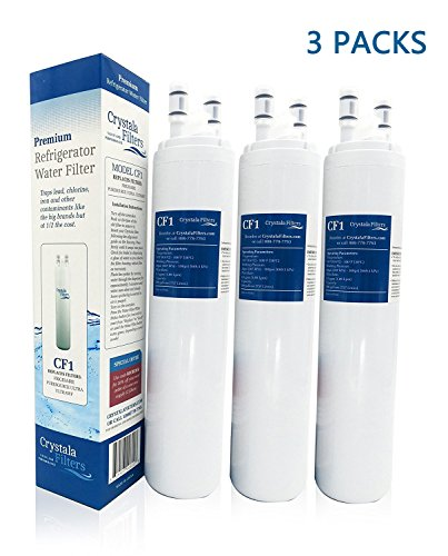 Crystala Filters Water Filter - Compatible Cartridge For ULTRAWF Frigidaire Refrigerators & Ice Makers - Compatible with Puresource, Gallery, Professional Series Fridge and Some Electrolux Models by Crystala Filters