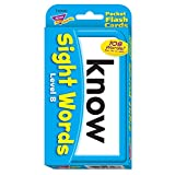 Sight Words Level B Pocket Flash Cards