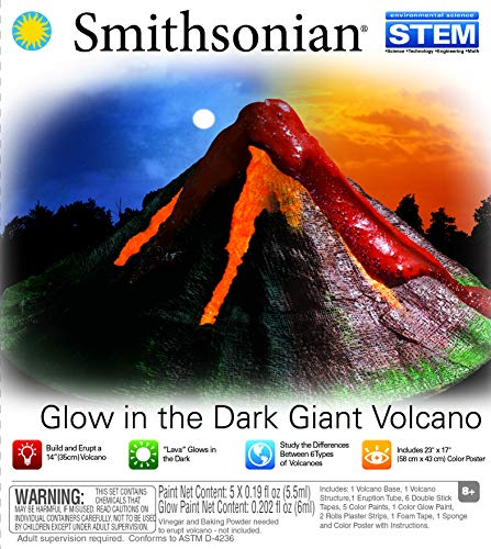 NSI Smithsonian Giant Volcano Kit (Smithsonian Best Small Towns)