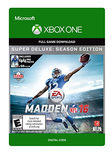 Madden NFL 16 Super Deluxe - Xbox One Digital Code by Electronic Arts