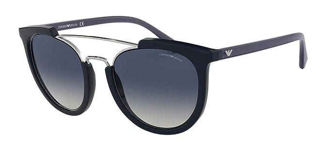 Emporio Armani 0EA4122 Gafas de Sol, Dark Jeans 53 para ...