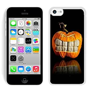 2014 Newest Iphone 5C TPU Rubber Protective Skin Halloween White iPhone 5C Case 15