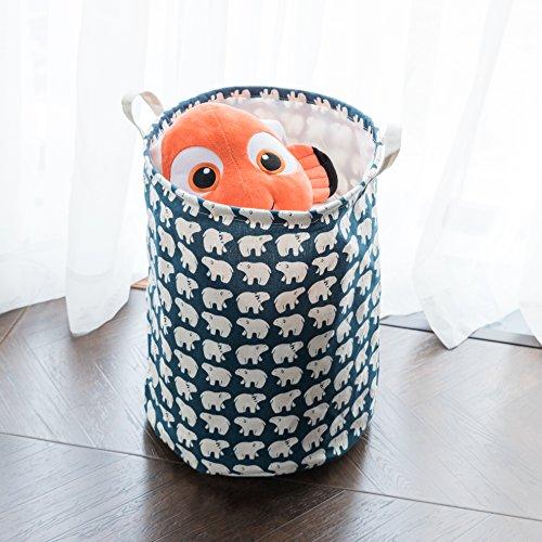 Foldable Laundry Basket Clothes Drawstring product image
