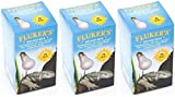 (3 Pack) Fluker's Neodymium Daylight Bulbs for Reptiles 75 watt