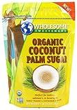 Wholesome Sweeteners - Organic Coconut Palm Sugar - 1 lb.