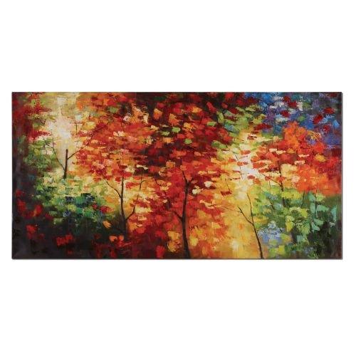 Uttermost Multicolor Bright Foliage Art