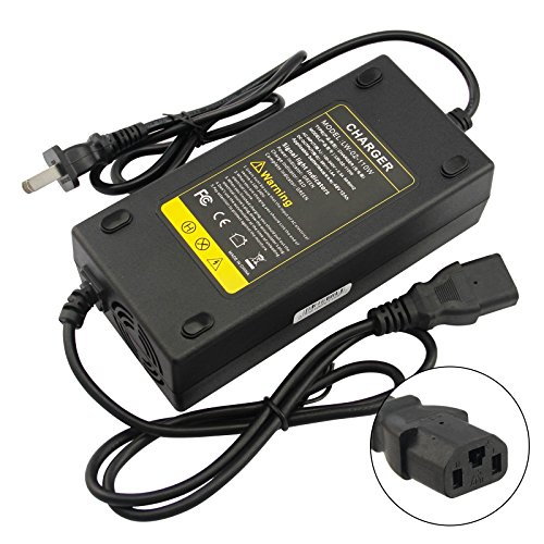 Price comparison product image Fancy Buying 48V 2A Electric Moped Scooter E-Bike Charger 4 Feet 3 Holes Plug 110W-48V/12AH