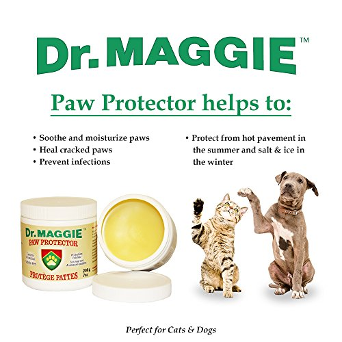 Dr. Maggie Paw Protector Original Packaging | Protective Paw Wax for Dogs & Cats | Paw Guard | 200 g 7 oz | Ice, Salt, and Snow Protection