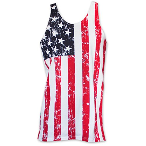USA-Patriotic-American-Flag-Mens-Stars-And-Stripes-Tank-Top-Shirt