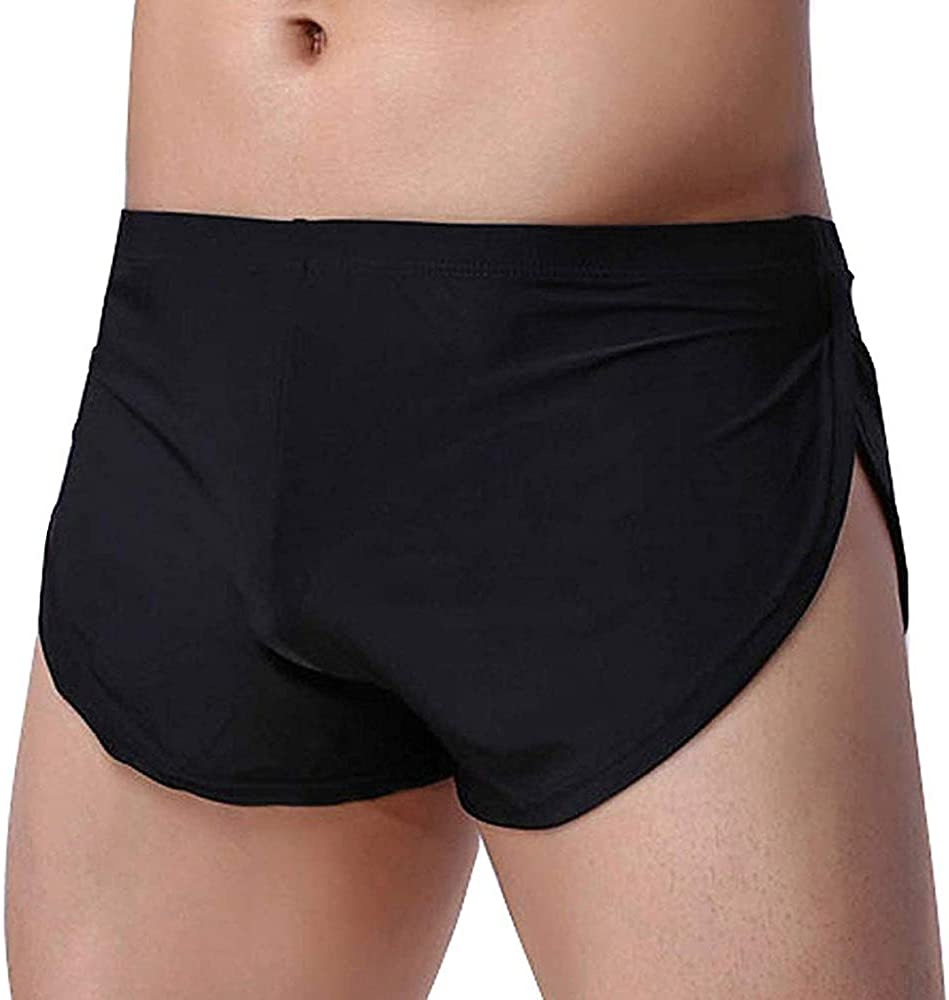 Men/'s Briefs Breathable Low-waist Brief Boxers Sheer Underwear Bottoms Panties