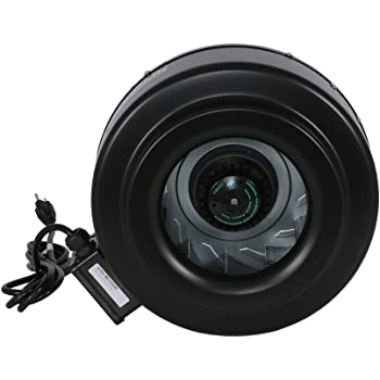 Amazon Com Hurricane Inline Fan 10 Inch 780 Cfm