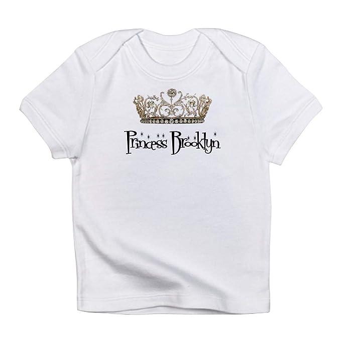 287d1ae7 CafePress Princess Brooklyn Infant T Shirt Cute Infant T-Shirt, 100% Cotton  Baby