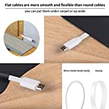 2 Pack 20FT Power Extension Cable Compatible with