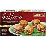Athens Foods Bite Size Walnut Pastry Baklava, 10 Ounce - 12 per case.