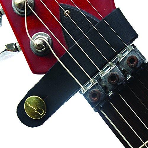 creanoso acoustic straps guitar button black headstock tie accessories 661291335778 ebay. Black Bedroom Furniture Sets. Home Design Ideas