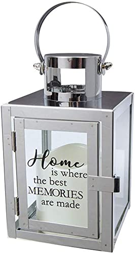 Carson Home Accents 12 Flameless Candle Light The Way Copper Metal Lantern Home Memories