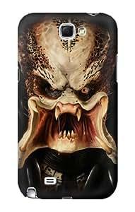S0907 Predator Face Case Cover for Samsung Galaxy Note 2 by icecream design