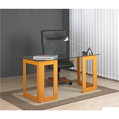 Practica Shopping - Cavalletto per tavolo da lavoro, in pino arancione Closet Norte
