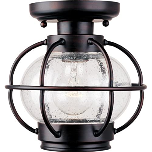 Outdoor flush mount lighting amazon maxim 30508cdoi portsmouth aluminum outdoor ceiling lighting 100 watts oil rubbed bronze workwithnaturefo